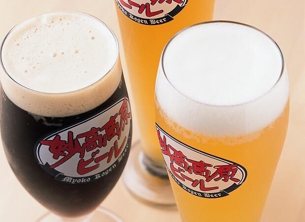 スキー・スノボーを楽しんだ後の一杯♪妙高高原ビール【池の平温泉スキー場】