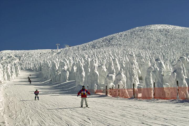 大人気を誇る4つのスキー場〜愛されるその理由とは?のイメージ