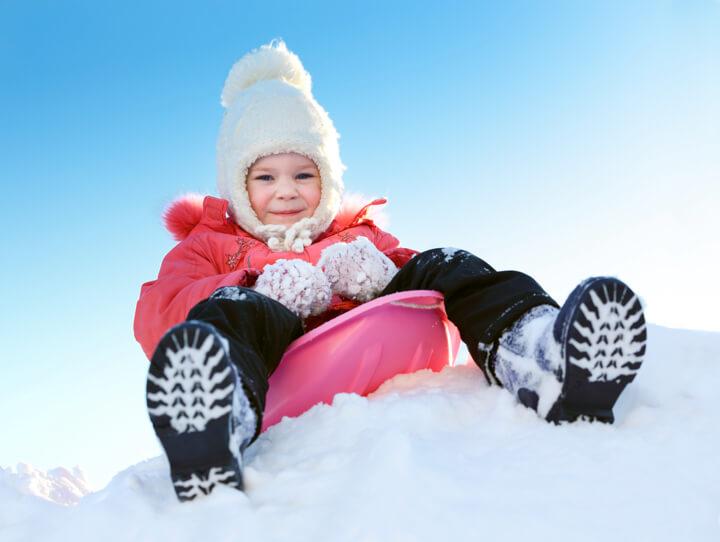 ファミリースキー 子どもの雪遊びデビューにキッズパークのイメージ