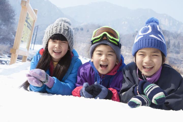 子ども用スキーウェア「予備」も必須で抜かりなしのイメージ