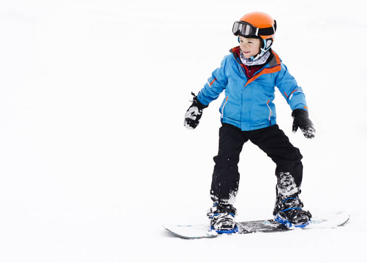 革新的スノボー上達プログラムLTR これで子どもも滑れる!のイメージ