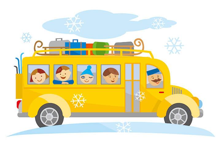 ファミリーには日帰りスキーツアーもオススメ…スキーツアーを選ぶ3つの方法のイメージ