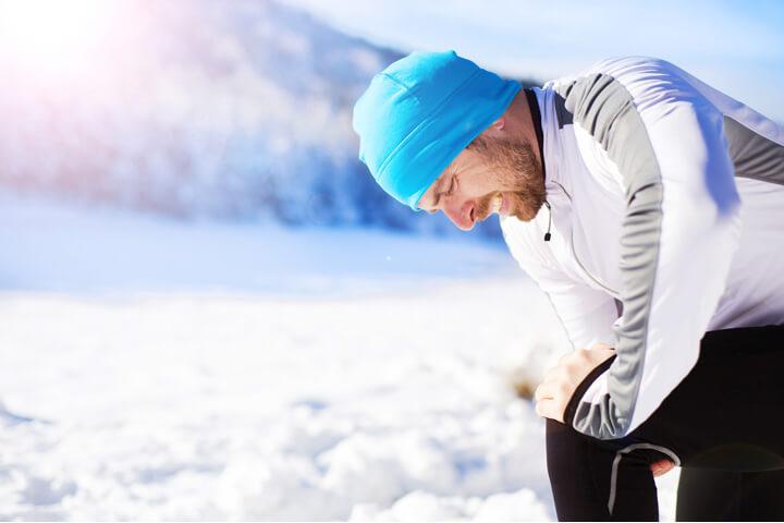 スノボー・スキーに付き物の「筋肉痛」少しでも和らげるためには?のイメージ