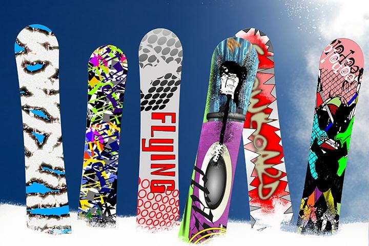 スノーボーダーが愛するリアルな板の「ブランド」とはのイメージ
