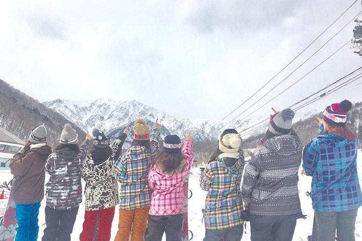 学生・団体グループスキーツアーにおすすめのスキー場のイメージ