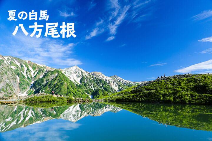 夏の白馬旅行[八方尾根]おすすめの観光地と立ち寄り温泉をご紹介のイメージ