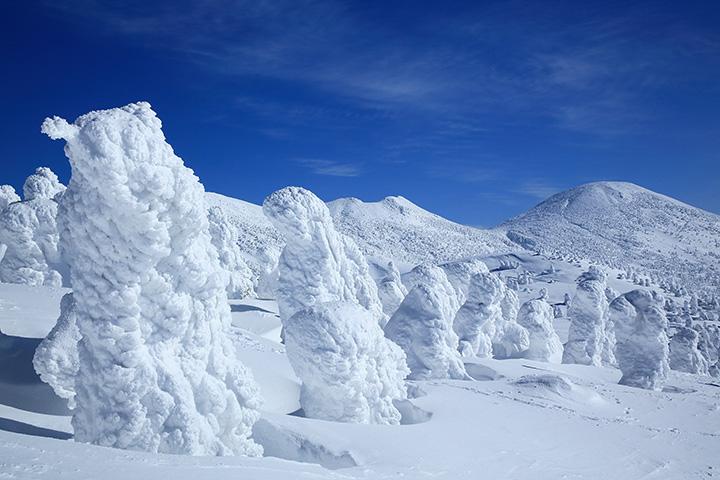 関東近郊から行ける!樹氷が見られるおすすめ3つのスキー場はこちら!のイメージ