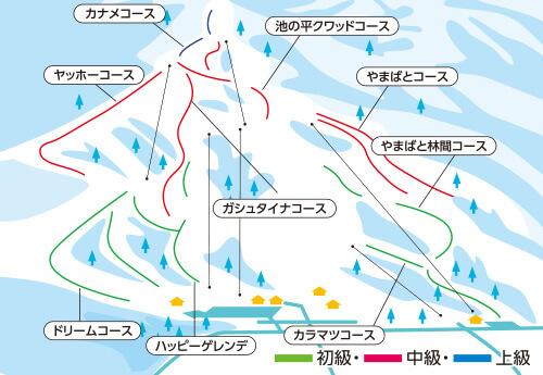<妙高高原池の平温泉スキー場> リフト券付き+レンタルチョイス マイカー日帰りプラン