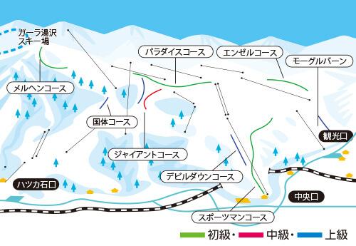 日帰りバス 石打丸山スキー場 新宿・大宮・川越発着 リフト券付きプラン