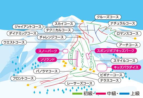 新宿夜発<岩原スキー場>リフト券付き 日帰りバスプラン
