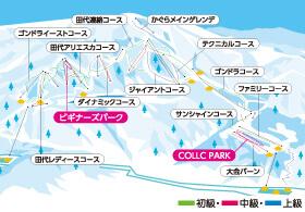 春スキー JR新幹線 日帰り かぐらスキー場