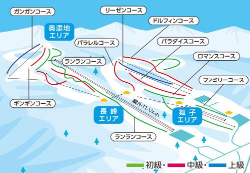 日帰りバス 舞子高原スキー場(舞子スノーリゾート) 新宿・大宮・川越発着 リフト券付き・なしが選べるプラン