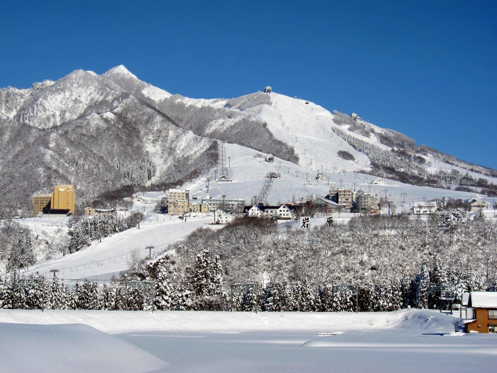 新潟 岩原 スキー 場