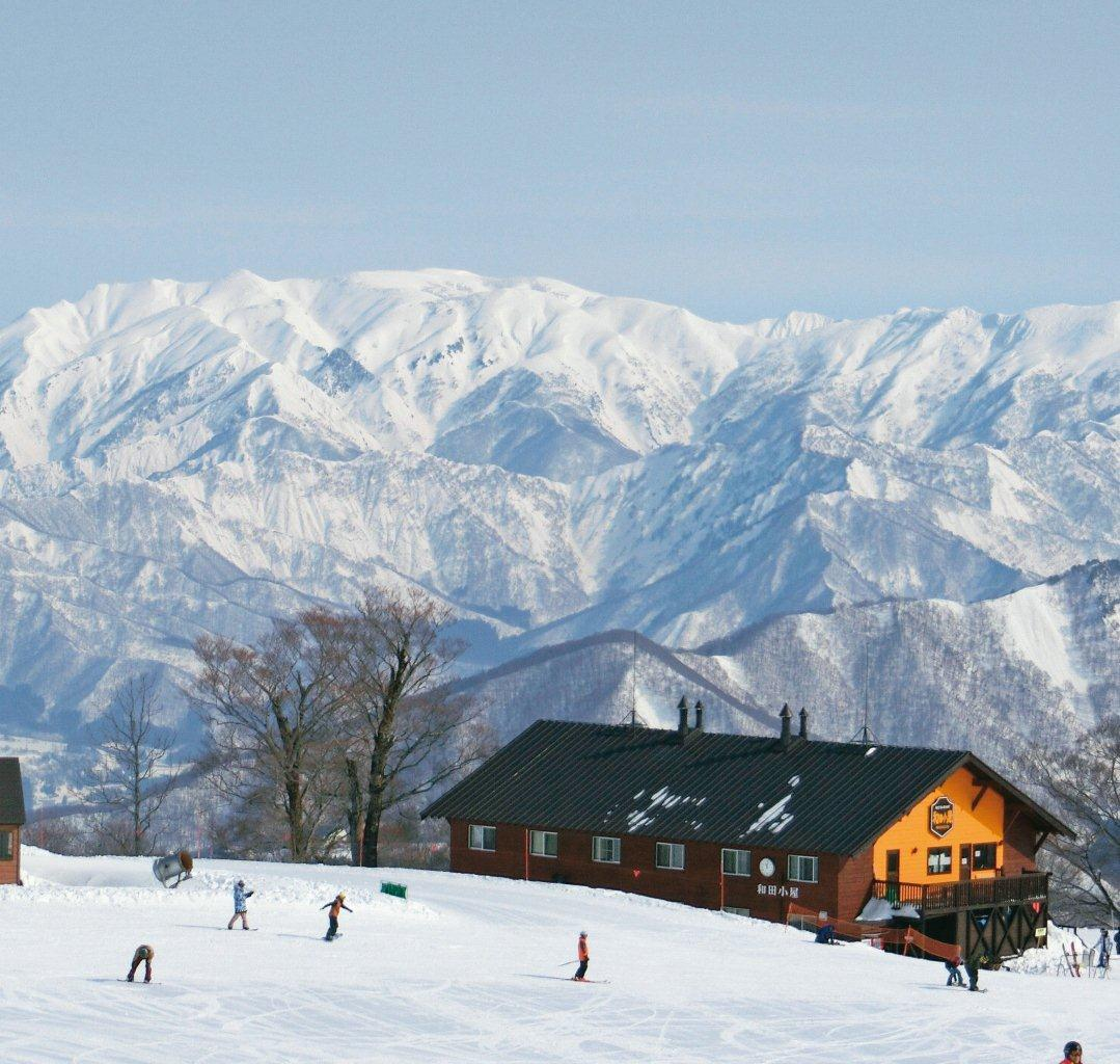 スキー場 積雪