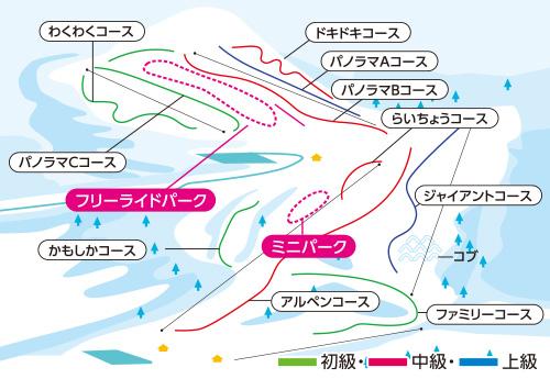新宿朝発<白樺湖ロイヤルヒル>リフト券付き 日帰りバスプラン