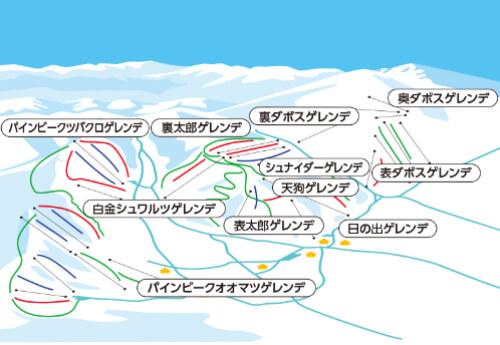 新宿朝発<菅平高原スノーリゾート> リフト券付き 日帰りバスプラン