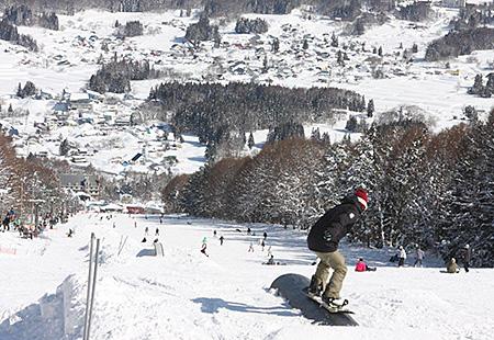 新宿夜発<X-JAM高井富士&よませ温泉スキー場>リフト券付き・なしが選べる 日帰りバスプラン