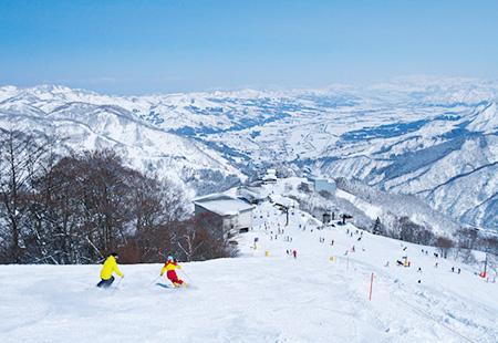 <湯沢高原スキー場> リフト券付き日帰りプラン(平日限定往復自由席)