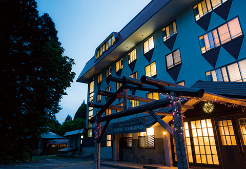 <蔵王温泉スキー場>ホテルハモンドたかみや 宿泊プラン