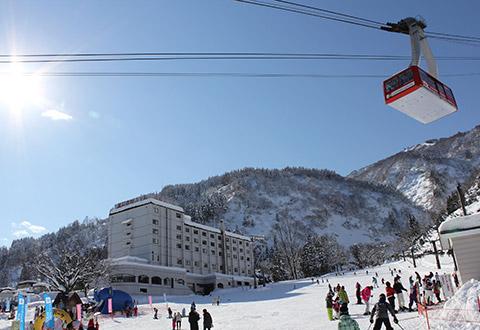 春スキー マイカー宿泊プラン かぐらスキー場 湯沢東映ホテル(湯沢温泉地区)