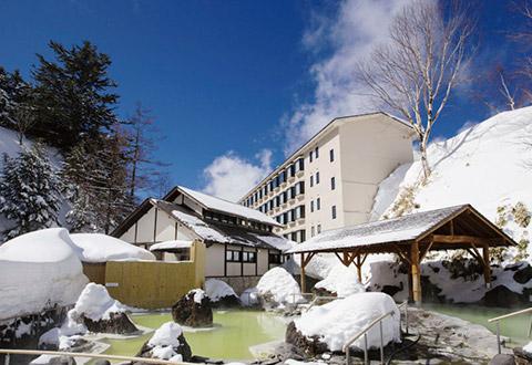 <万座温泉スキー場>万座高原ホテル 宿泊プラン
