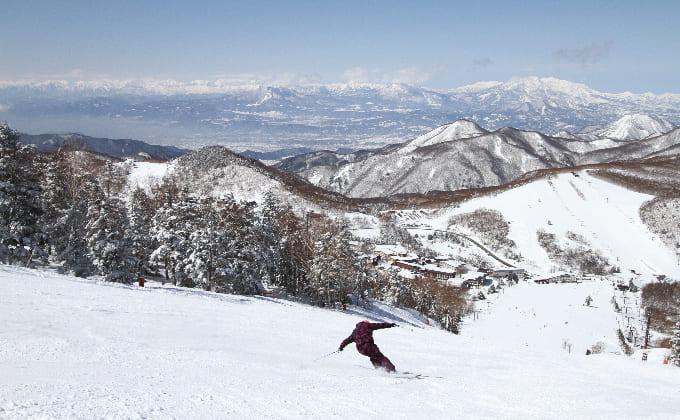志賀高原スキー場(長野県)