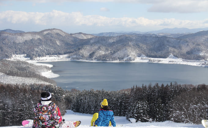 白馬さのさかスキー場(長野県)