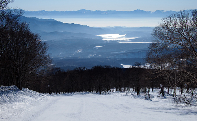 池の平 温泉 スキー 場