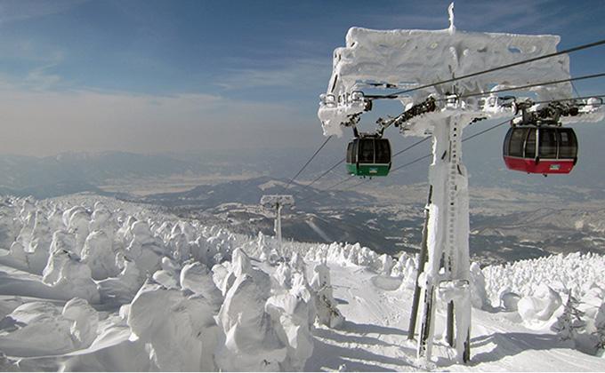 温泉 スキー 場 蔵王